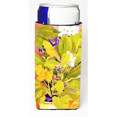 Carolines Treasures 6024MUK Flower Michelob Ultra s For Slim Cans 12 oz.