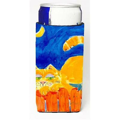 Big Orange Tabby Cat On The Fence Michelob Ultra s For Slim Cans 12 oz.