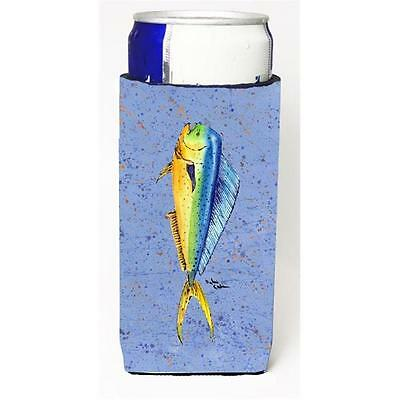 Carolines Treasures 8349MUK Fish Dolphin Michelob Ultra s For Slim Cans 12 oz.
