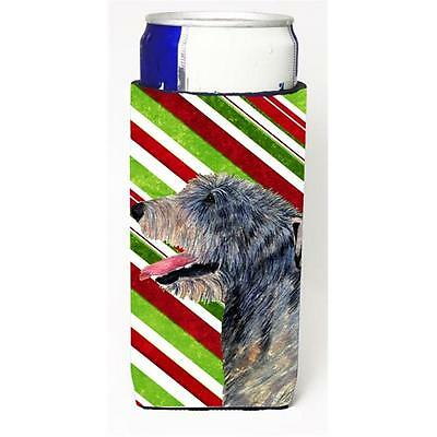 Irish Wolfhound Candy Cane Holiday Christmas Michelob Ultra s For Slim Cans 1...