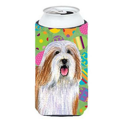 Bearded Collie Easter Eggtravaganza Tall Boy Hugger 22 To 24 oz.