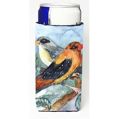Carolines Treasures Bird Strawberry Finch Michelob Ultra s For Slim Cans 12 oz.