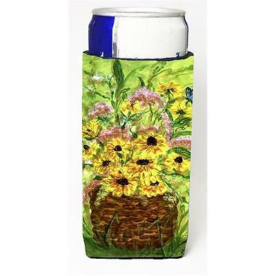 Carolines Treasures Yellow Daisies Michelob Ultra s For Slim Cans 12 oz.