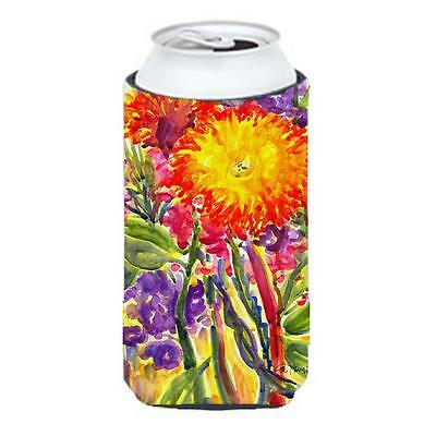Carolines Treasures 6077TBC Flower Aster Tall Boy Hugger 22 To 24 oz.
