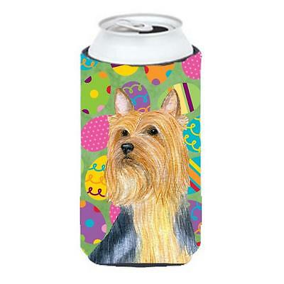 Silky Terrier Easter Eggtravaganza Tall Boy Hugger 22 To 24 oz.