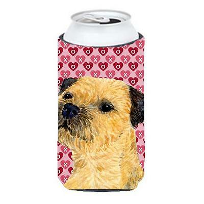 Border Terrier Hearts Love And Valentines Day Portrait Tall Boy Hugger 22 To ...
