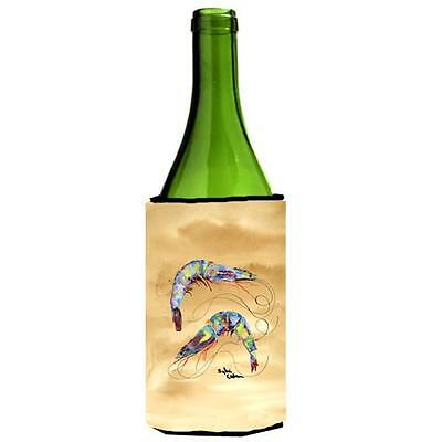 Carolines Treasures 8158LITERK Shrimp Sandy Beach Wine Bottle Hugger 24 oz.