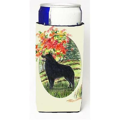 Carolines Treasures SS8058MUK Schipperke Michelob Ultra s For Slim Cans 12 oz.