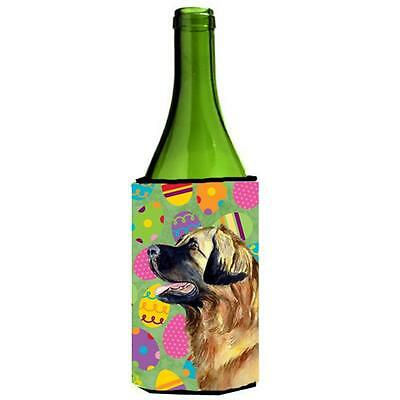 Carolines Treasures Leonberger Easter Eggtravaganza Wine Bottle Hugger 24 oz.