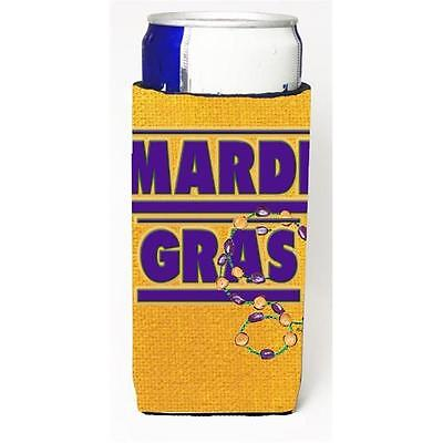 Mardi Grass Michelob Ultra bottle sleeves For Slim Cans 12 oz.
