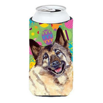 Norwegian Elkhound Easter Eggtravaganza Tall Boy Hugger 22 To 24 oz.