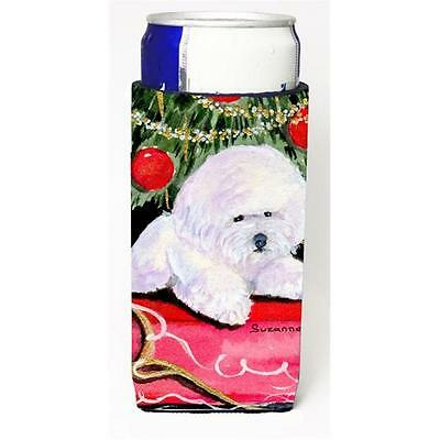 Christmas Tree With Bichon Frise Michelob Ultra s For Slim Cans 12 oz.
