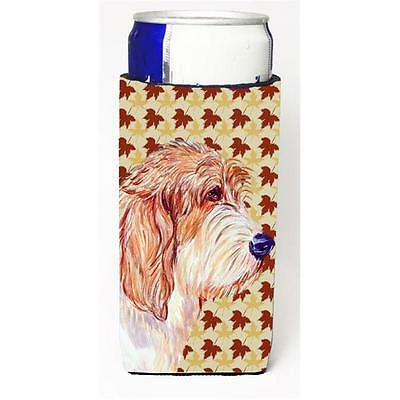 Petit Basset Griffon Vendeen Fall Leaves Portrait Michelob Ultra s For Slim C...