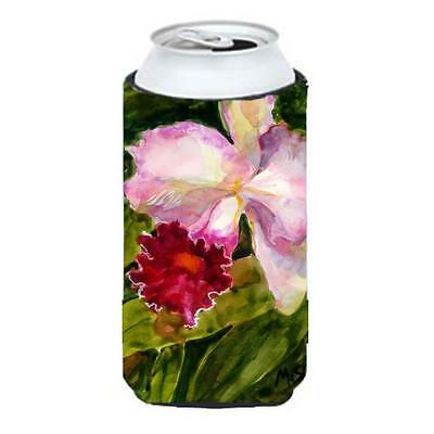 Carolines Treasures MM6006TBC Flower Orchid Tall Boy Hugger 22 To 24 oz.