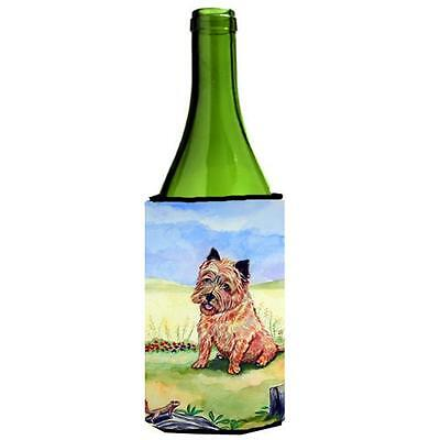 Cairn Terrier And The Chipmunk Wine bottle sleeve Hugger 24 oz.