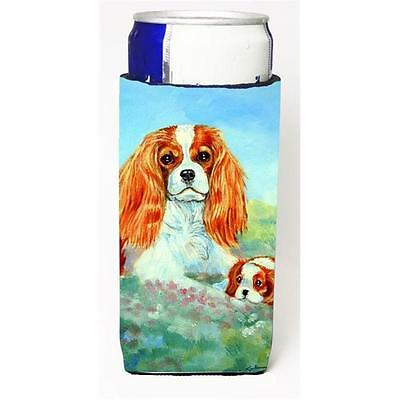 Cavalier Spaniel Mommas Love Michelob Ultra bottle sleeves For Slim Cans 12 oz.
