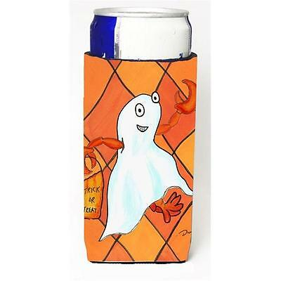 Crawfish Halloween Ghost Michelob Ultra bottle sleeve for Slim Can