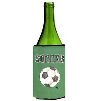Carolines Treasures 8484LITERK Soccer Wine bottle sleeve Hugger