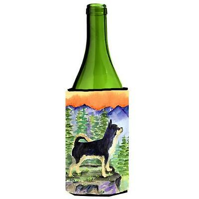 Carolines Treasures SS8230LITERK Chihuahua Wine bottle sleeve Hugger 24 oz.