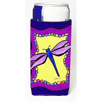 Carolines Treasures Dragonfly Michelob Ultra bottle sleeve for Slim Can