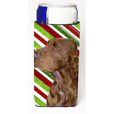 Field Spaniel Candy Cane Holiday Christmas Michelob Ultra bottle sleeve for S... • AUD 47.47