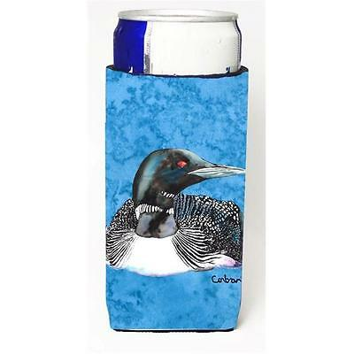 Carolines Treasures Loon Michelob Ultra bottle sleeves for slim cans 12 oz.
