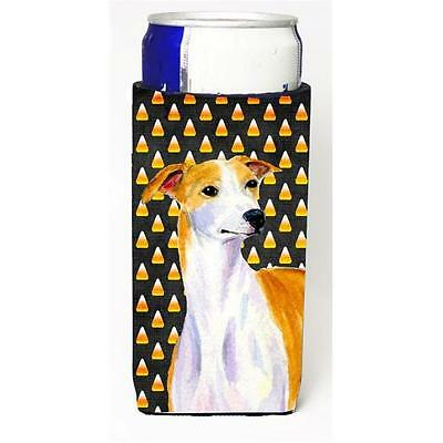 Whippet Candy Corn Halloween Portrait Michelob Ultra bottle sleeves For Slim ...