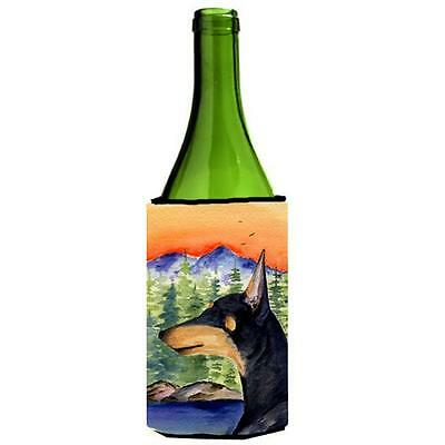 Carolines Treasures Manchester Terrier Wine bottle sleeve Hugger 24 oz.