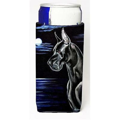 Black Great Dane in the Moonlight Michelob Ultra bottle sleeves for slim cans...