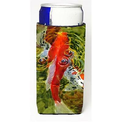 Carolines Treasures MM6035MUK Fish Koi Michelob Ultra s For Slim Cans 12 oz. • AUD 47.47