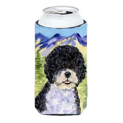 Portuguese Water Dog Tall Boy bottle sleeve Hugger 22 To 24 oz.