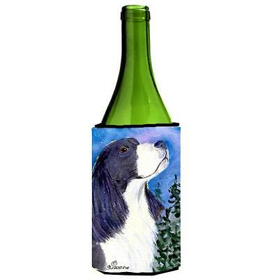 Carolines Treasures English Springer Spaniel Wine bottle sleeve Hugger 24 oz.