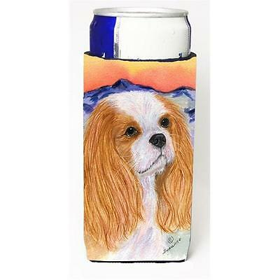 Carolines Treasures Cavalier Spaniel Michelob Ultra bottle sleeve for Slim Can