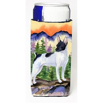 Rat Terrier Michelob Ultra bottle sleeves for slim cans 12 oz.
