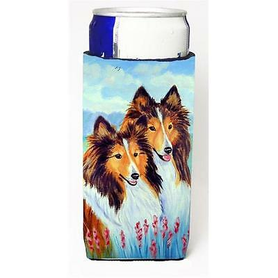 Sable Shelties Double Trouble Michelob Ultra bottle sleeves For Slim Cans 12 oz. • AUD 47.47