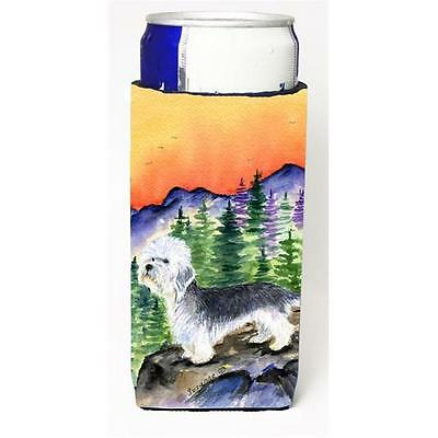 Dandie Dinmont Terrier Michelob Ultra bottle sleeves for slim cans 12 oz.