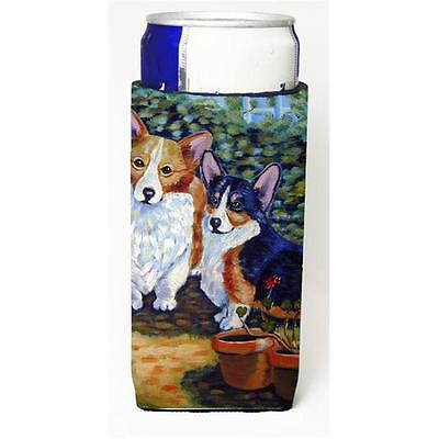 Cardigan And Pembroke Corgi Michelob Ultra bottle sleeves For Slim Cans 12 oz.