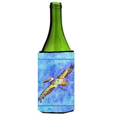 Carolines Treasures 8377LITERK Pelican Wine Bottle Hugger 24 oz.