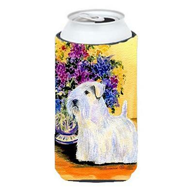 Carolines Treasures Sealyham Terrier Tall Boy bottle sleeve Hugger 22 To 24 oz.