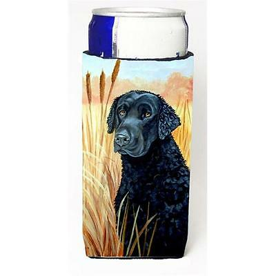 Curly Coated Retriever Michelob Ultra bottle sleeves For Slim Cans 12 oz.