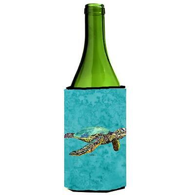 Carolines Treasures Loggerhead Turtle Wine bottle sleeve Hugger 24 oz.