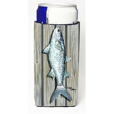 Carolines Treasures Fish Mullet Michelob Ultra bottle sleeve for Slim Can