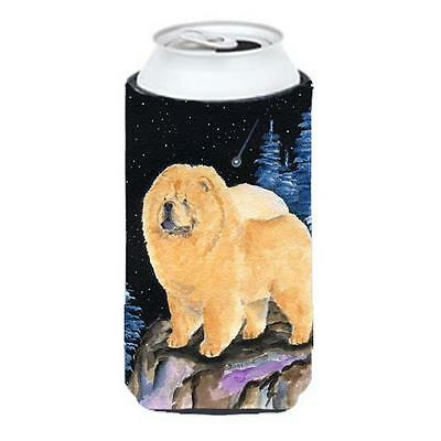 Starry Night Chow Chow Tall Boy bottle sleeve Hugger 22 to 24 oz.