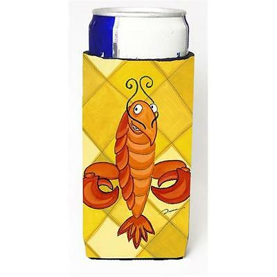 Crawfish Craw De Lis Michelob Ultra bottle sleeve for Slim Can