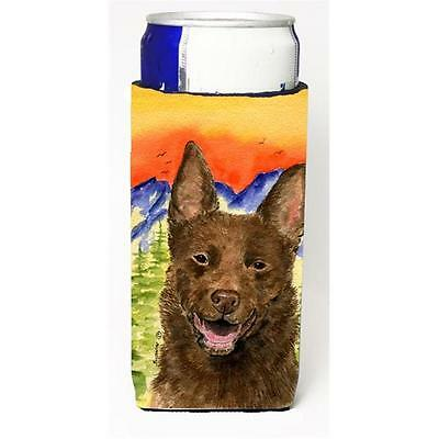 Carolines Treasures Australian Kelpie Michelob Ultra bottle sleeve for Slim Can