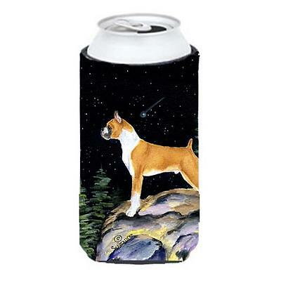 Starry Night Boxer Tall Boy bottle sleeve Hugger 22 To 24 oz.