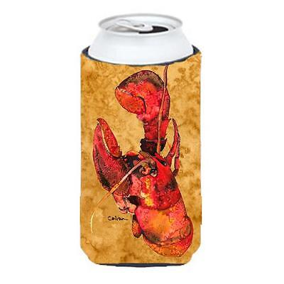 Carolines Treasures Lobster Cooked Tall Boy bottle sleeve Hugger 22 To 24 oz.
