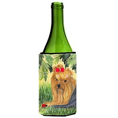 Carolines Treasures SS8258LITERK Yorkie Wine bottle sleeve Hugger 24 oz.