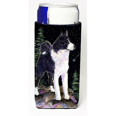 Starry Night Karelian Bear Dog Michelob Ultra bottle sleeves For Slim Cans 12...