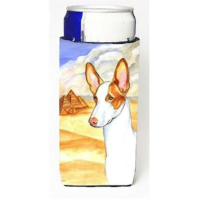 Carolines Treasures Ibizan Hound Michelob Ultra bottle sleeve for Slim Can